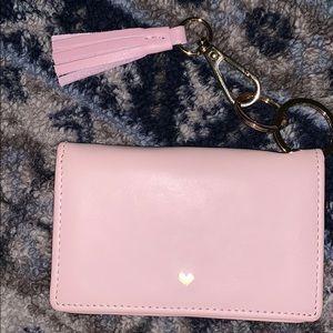 Rachel Roy leather wallet key chain